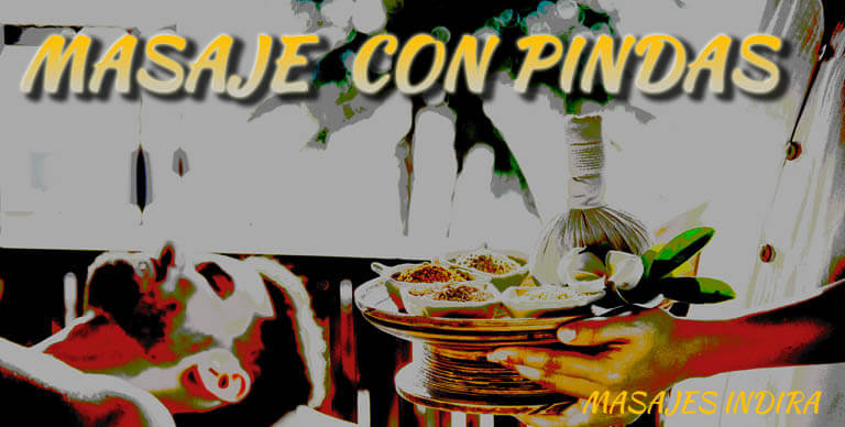 Masaje con pindas → ¿Te atreves a sentir los aromas del placer?